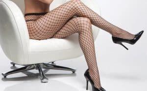 Coquette Diamond Net Pantyhose CQ1761