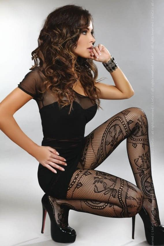 Livco Corsetti Ahava Tights LC 17148 side