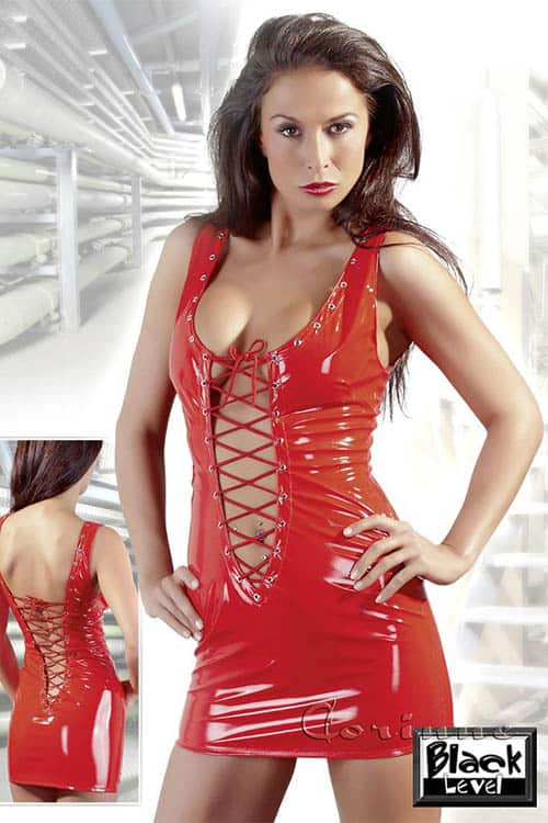 Black Level Red Minidress