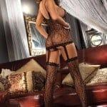 Livia Corsetti Catriona Black Body stocking bv