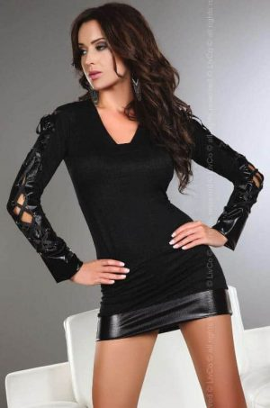 Livco Corsetti Odilia Babydoll Outfit LC 90061front