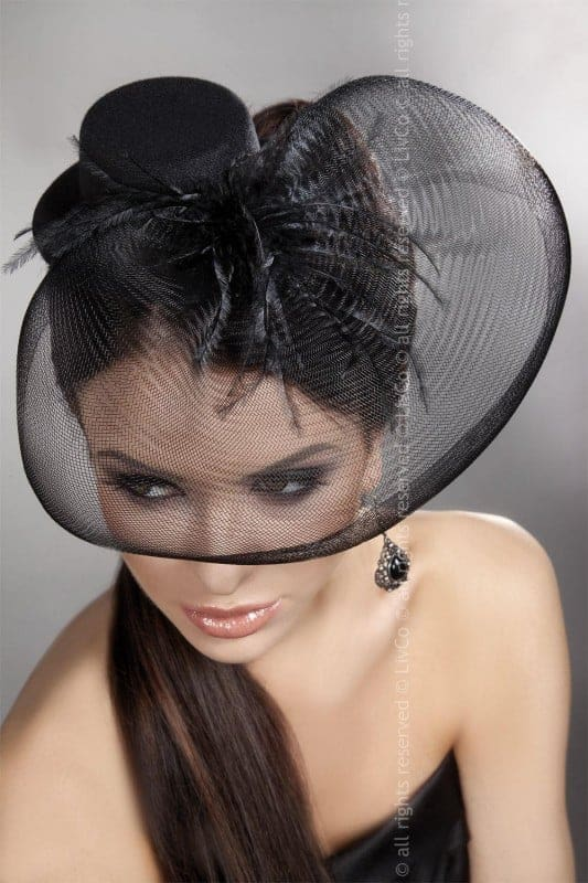 livco Corsetti Mini Top hat Model 24
