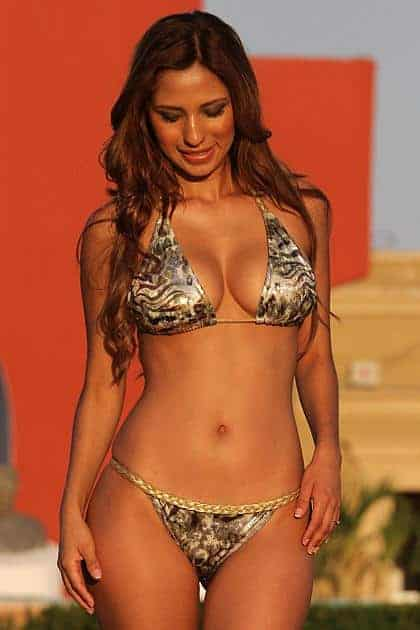 Ujena Silver Safari Braided Colombian Bikini W215 front