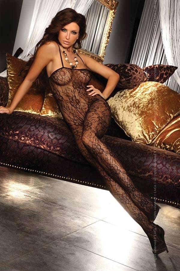 Livia Corsetti Danae Body Stocking Black LC17076 front