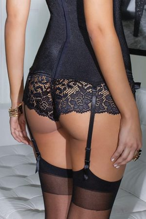Coquette Lace Booty Shorts front