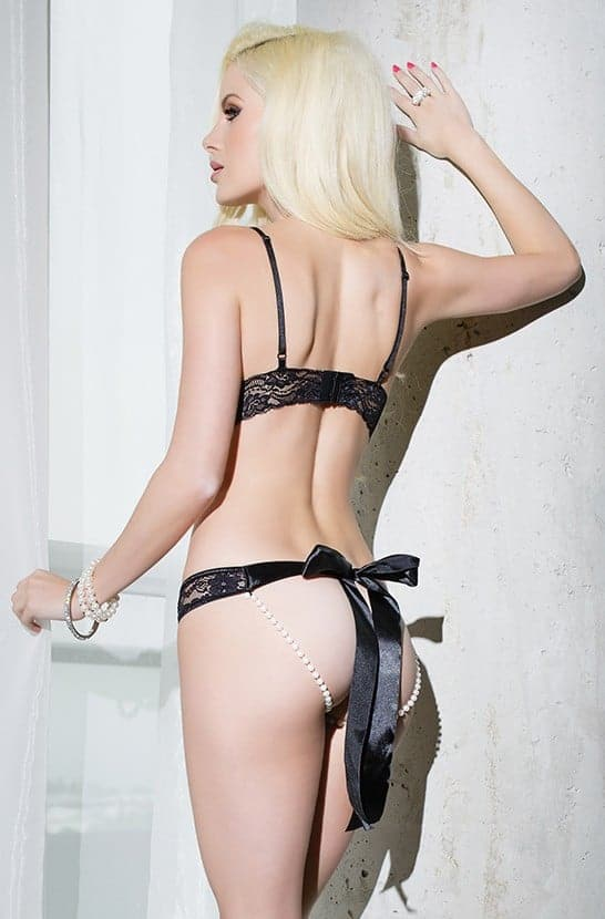 Coquette Bra and Panty SB606 back