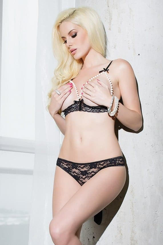 Coquette Bra and Panty SB606 front
