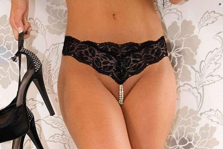 Bracli Your Night Black Pearl Gstring front