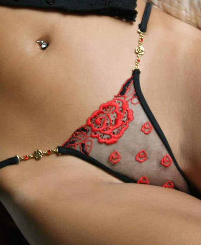 Lola Luna Carmen G String close up front