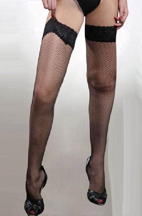ishnet Thigh High Stockings Plus NX-BL90051X
