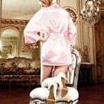 Baci Lace Kimono OS light pink bv