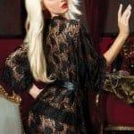 Paisley Pleasure lace robe Plybg STM-9405 bv