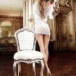 Baci Lace Kimono  White 3066 bv