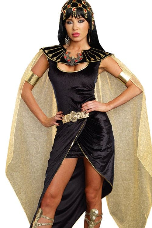 Dreamgirl 3 Pce Cleo Costume front