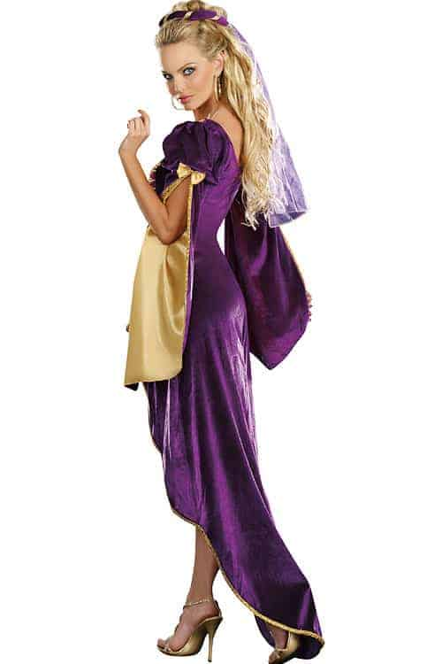 Dreamgirl 2 Pce Queen of Thrones Costume back