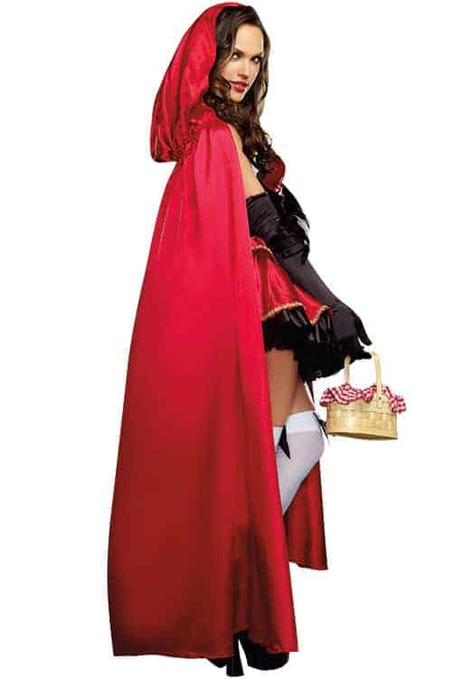 Dreamgirl 2 Pce Little Red Riding Hood Costume back