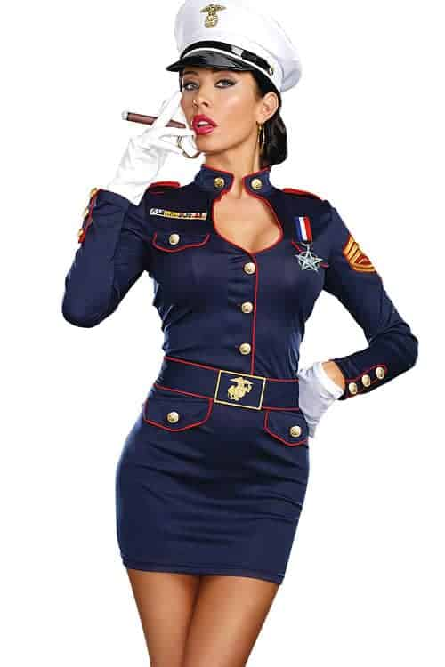 Dreamgirl 4 Pce Sailor Costume front