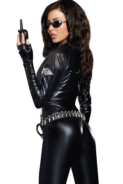 Dreamgirl 2 Pce Special Ops Costume back