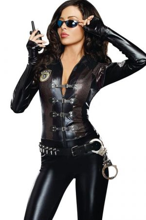 Dreamgirl 2 Pce Special Ops Costume front