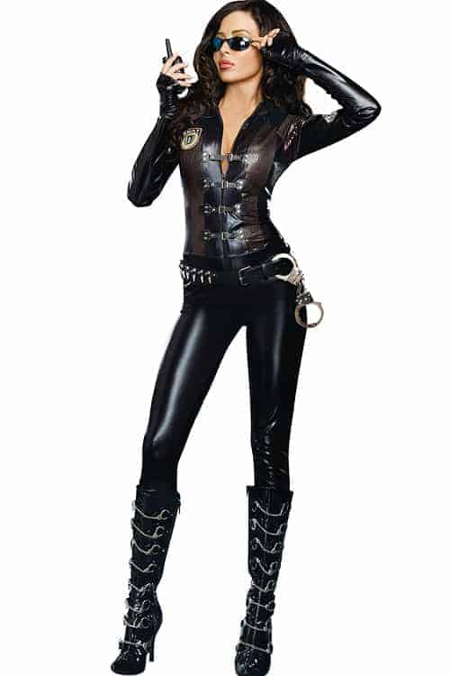 Dreamgirl 2 Pce Special Ops Costume front 2
