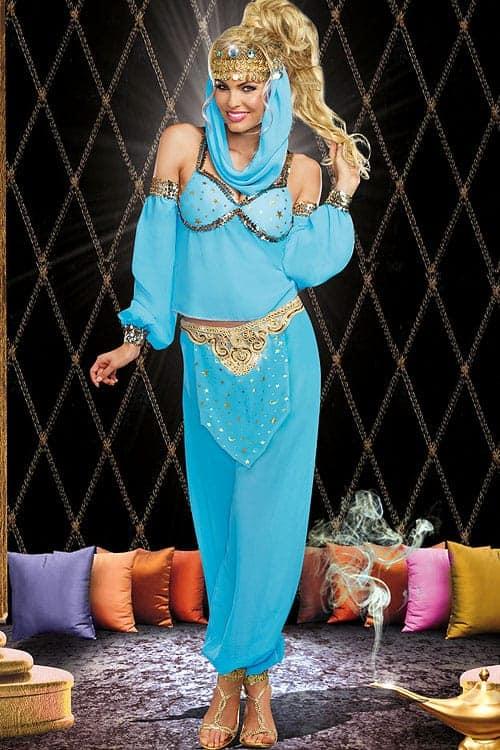 Dreamgirl 4 Pce Genie Costume front 2