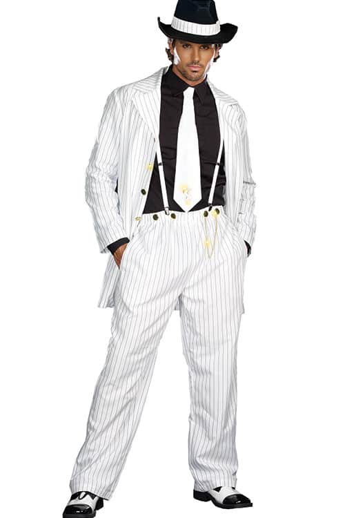 Dreamgirl 5 Pce 40's Style Gangster Costume front 2