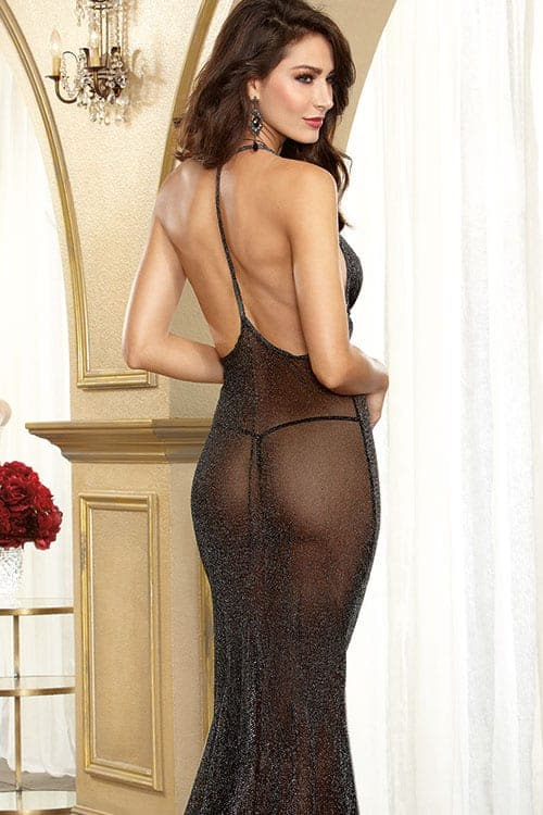 Dreamgirl Amore Shimmering Gown back