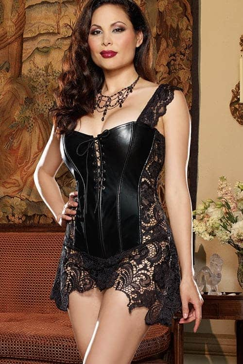 83d78092f Dreamgirl Beyonce Corset with Thong - Marys Lingerie