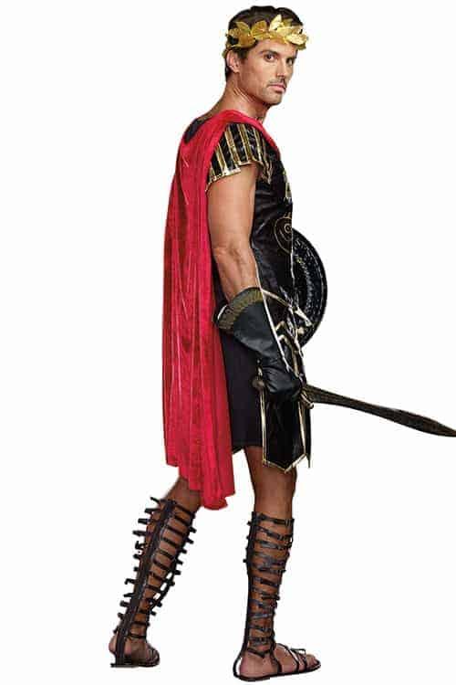 Dreamgirl 3 Pce Julius Caesar Costume back