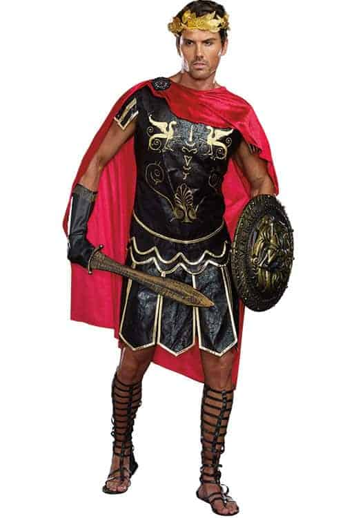 Dreamgirl 3 Pce Julius Caesar Costume front 2
