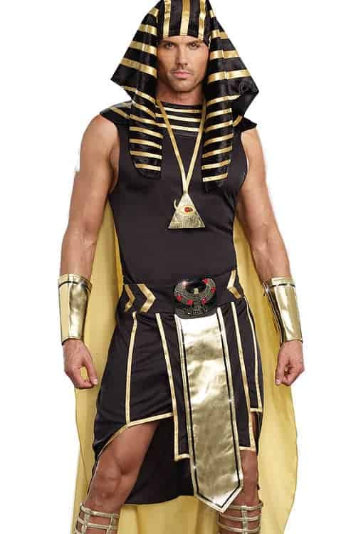 Dreamgirl 6 Pce Egyptian Costume front