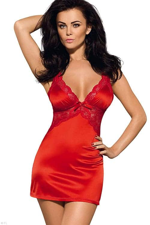 5b54b8457f67c Obsessive Secred Chemise with Thong - Marys Secret Boutique