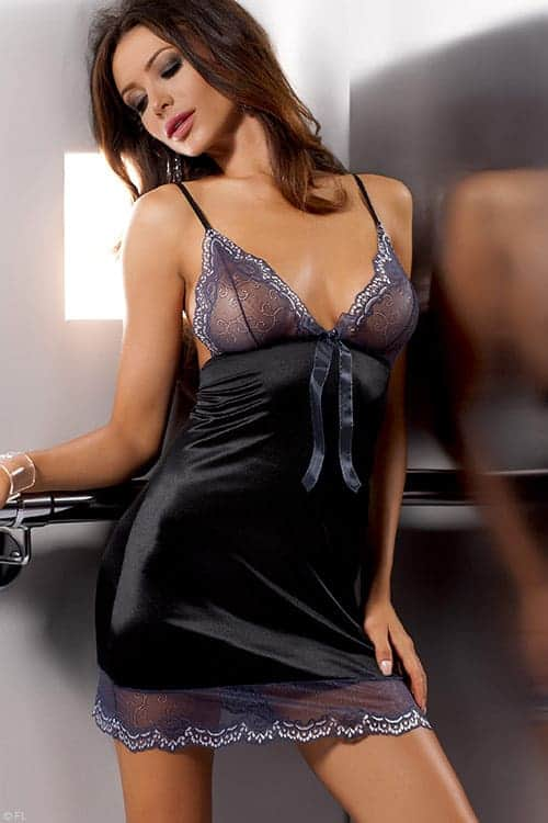 Casmir Ashley Luxurious Chemise front