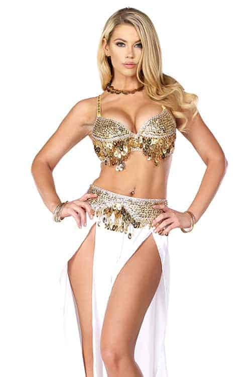 Forplay Harem Nights Sexy Belly Dancing Costume front