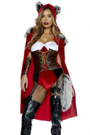 Forplay Red Haute Storybook Character Costume front