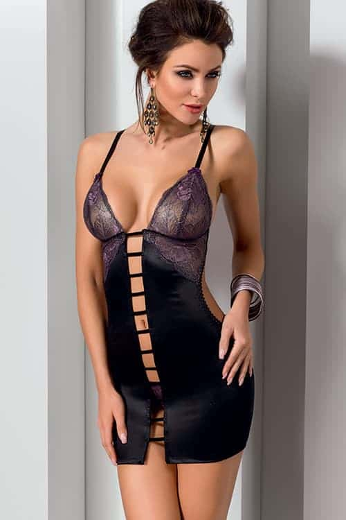 d27df1477a909 Casmir Fiero Chemise with Thong - Marys Secret Boutique