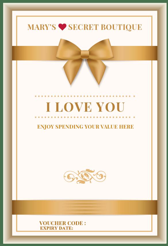 Love Gift Voucher