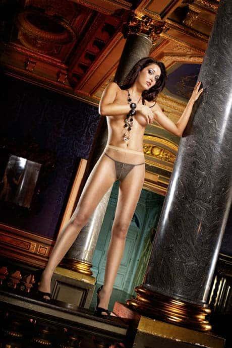 Baci Nude Sheer Pantyhose front