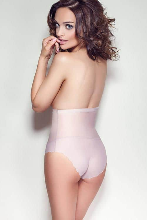 Mitex Glam Shape Wear Pink Back