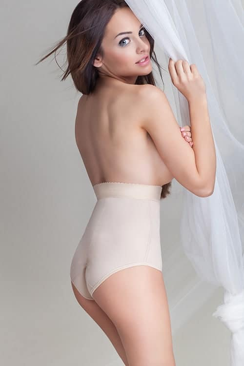 Mitex Satin Shaping Panty Back