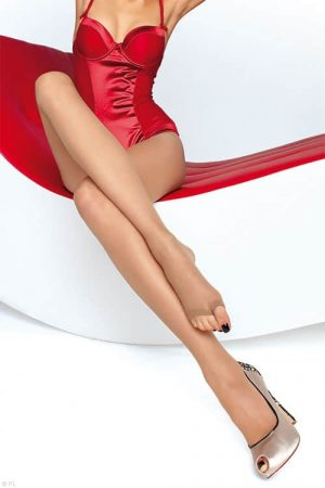 Fiore Eveline Toeless Pantyhose front