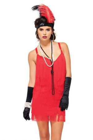Forplay Roaring Siren Sexy Flapper Costume front