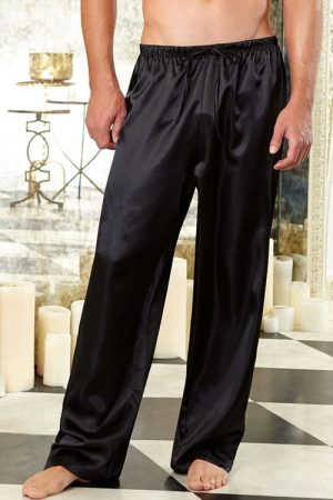 Dreamgirl Mens Charmeuse Pants 3863 front