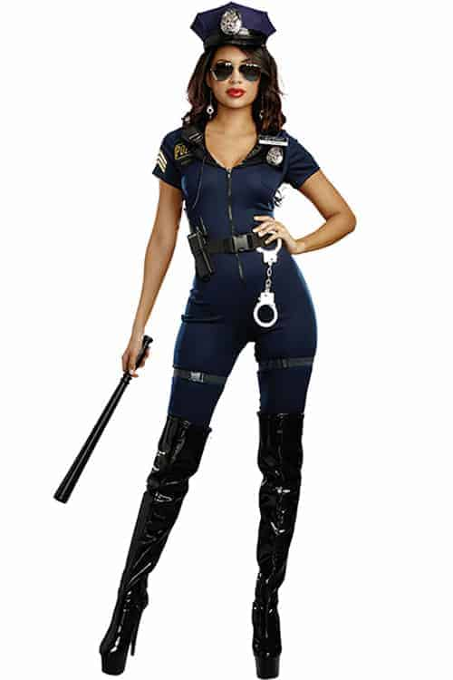 Dreamgirl 8 Pce Lieutenant Ivana Misbehave Costume front