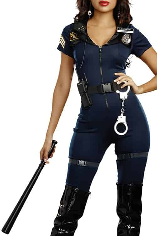 Dreamgirl 8 Pce Lieutenant Ivana Misbehave Costume front 2