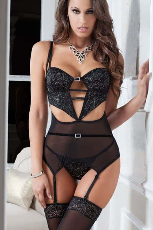 GWorld 3pc Slip Corset front