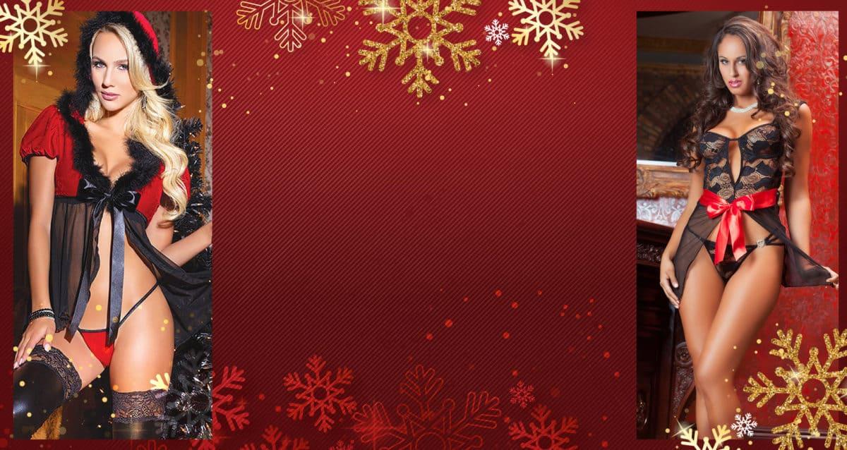 MARYS LINGERIE SLIDER CHRISTMAS