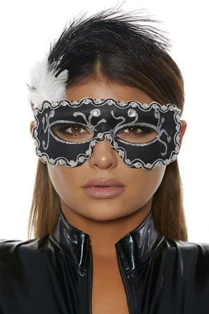 Forplay Black Masquerade Mask