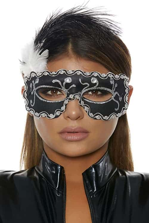 Forplay Black Masquerade Mask