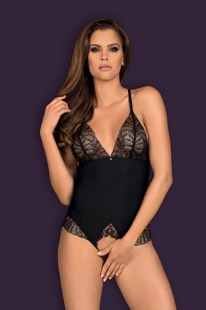 Obsessive Chiccanta Crotchless Teddy front